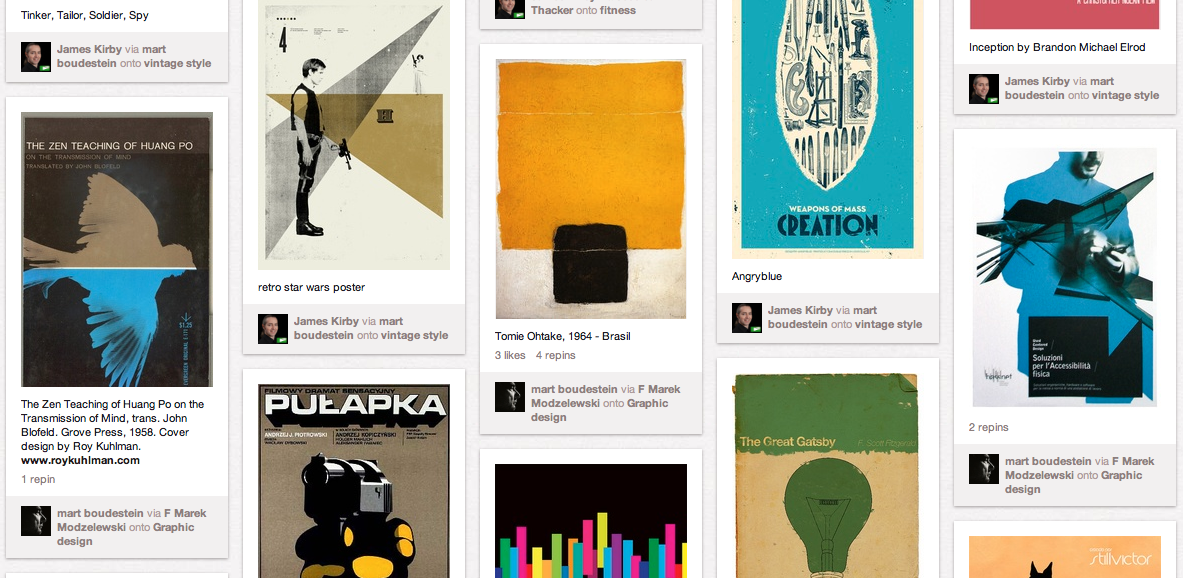 Design (and other) inspiration on Pinterest
