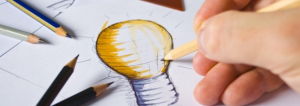 sketch for logo design